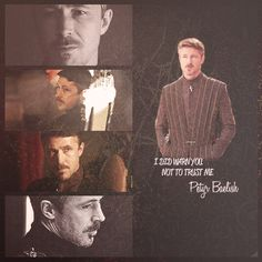 Aidan Gillen (Littlefinger, Game of Thrones) made by lethemusicdotherest