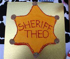 Great Cowboy cake idea.