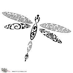 polynesian dragonfly tattoo | Polynesian-dragonfly-tattoo.jpg