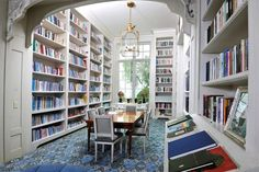 Whether you're looking in a book or out the window, this library has inspiration aplenty.