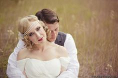 Vintage bride beauty from Pine River Ranch