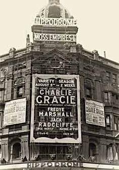 Charlie headlined the famed London Hippodrome, 1957.