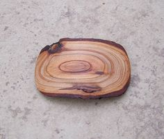Rustic Cherry Wood Wooden Hair Barrettes or Hair Clips  by OruAka, $13.75