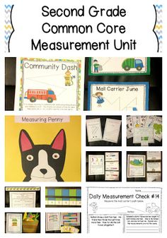 Second Grade Common Core Measurement Unit