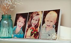 "$39 for Five 2""x2"" Photo Blocks, Three 5""x7"" Photo Boards, or One 8""x10"" Photo Board from PhotoBarn"