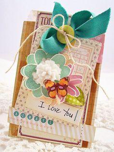 Creative Paper Trail: 1 card, 2 card, 3 card, fold....
