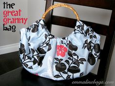 Free Purse Tutorial: The Great Granny Bag - Emmaline Bags and Patterns