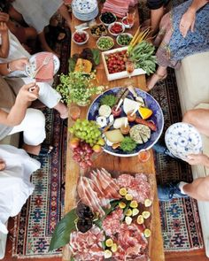 Perfect for an causal gathering celebrating the happy couple! korean barbecue meets italian feast