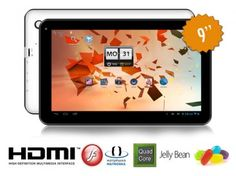 Tablet PC 9'' Quad Core Android 4.2 8Gb + 1Gb Ram