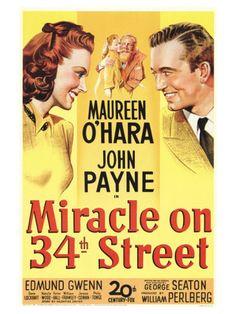 Miracle on 34th Street  --  Maureen O'Hara was Always good!