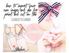 ..Twigg studios: make your own print and cut on the silhouette