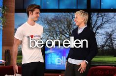 Because who doesn't love Ellen??