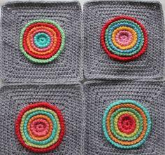 little woollie: New blanket progress - free pattern