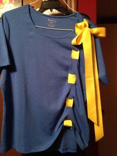 School spirit shirt would look good in orange and black