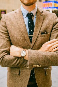 blazer, tie