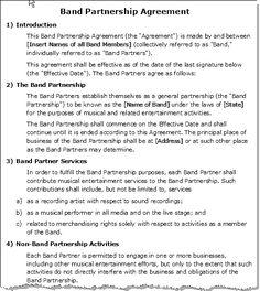 Real Estate Partnership Agreement Sample 25.04.2017