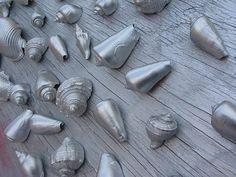 Life in Rehab: Shell We Continue?  spray paint seashells