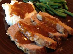 Parmesan Pork Tenderloin - Great pork tenderloin recipe for your slow cooker