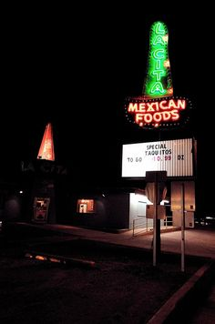 Genuine American road food. Tucumcari, NM on 66