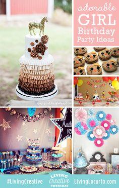 Adorable Girl Birthday Party Ideas!