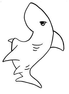 Brilliant Beginnings Preschool: Shark Teeth Coloring Page W/Printable