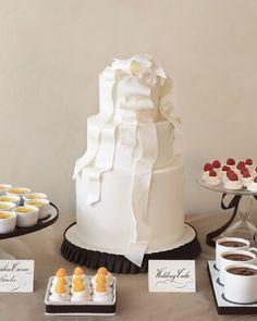 Dress-Inspired Cake  Martha Stewart