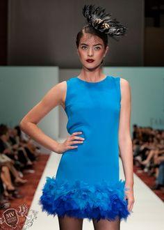 LOVE this dress by Fabiola Arias