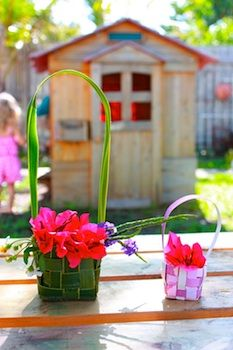 May Day baskets @ The Crafty Crow