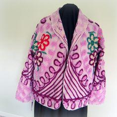 vintage chenille jacket   <3