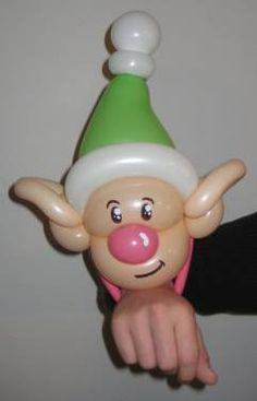 Divertido elfo de globoflexia. #globoflexia #globos #tienda