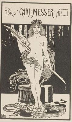 Illustration by Ephraim Mose Lilien (1906)