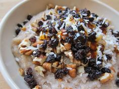 Coconut Buckwheat Porridge