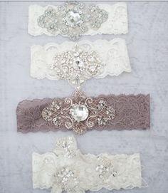 Lace vintage garter.