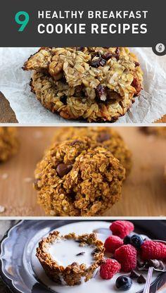 9 Healthy Breakfast Cookies!