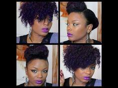 Natural Hair | 2 Styles Tutorial