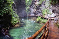 Vintgar Gorge, Slovenia  photo via welcome favorit place, paths, nature, vintgar gorg, beauti place, slovenia, travel, space, spain