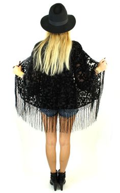 Watchtower Burnout Kimono Jacket www.shopelectricwest.com