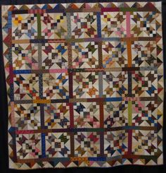 FABRIC THERAPY: 2013 Shipshewana Quilt Festival. 'Scrappy Buckeye Beauty' by Pat Atwell of Valparaiso, IN