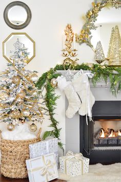 christmas home tour-