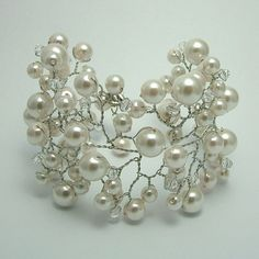 pearl cuff--so delicate