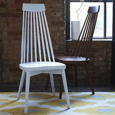 Spoke Dining Chair #WestElm Would probably look great at our future breakfast nook...but $$$
