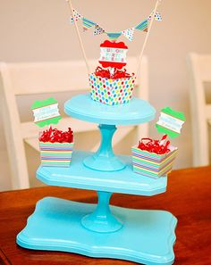 So cute! DIY Cupcake Stand from @Sarah Chintomby Martin