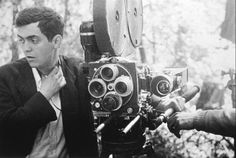 """Director Stanley Kubrick on the set of his first film, the 1953 feature """"Fear And Desire"""""""