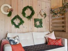 Wall of Wreaths | Sc