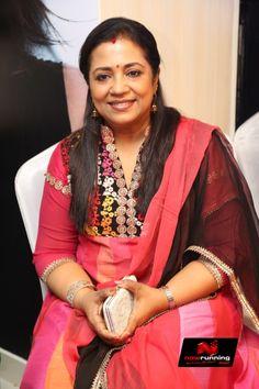 Poornima Bhagyaraj At Frizzda Salon Launch