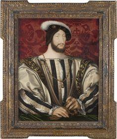 Portrait of François I, king of France (1494-1547), c. 1530 | Louvre Museum | Paris