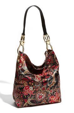 This eye-catching nylon bag comes in several colors. $188