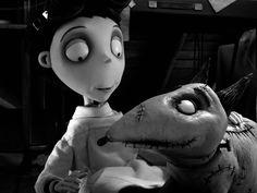 Tim Burton's 'frainkenweinie' I cried watching this damn movie