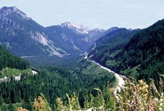 John Wayne Pioneer Trail - While this trail officially transects Washington state, only 113 miles of the final 200 mile trail have been developed (by 2007) and are presently open. You can get several overnights out of it. Great diversity of terrain: unshaded, dry sagebrush in east, glacial valleys and ranchlands in the west. Hard gravel. Biker/hiker camps.