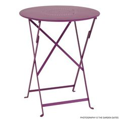 Fermob Bistro 24 inch Floreal Perforated Table  $266.00